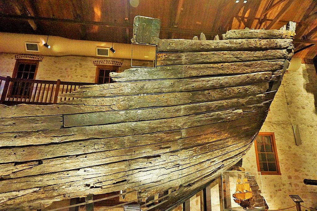 WA Shipwrecks Museum - Batavia Timbers