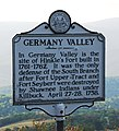 WV historical marker - Germany Valley.jpg
