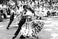 Wacana Elementary School students dancing at the 1959 Florida Folk Festival- White Springs, Florida (7561486876).jpg