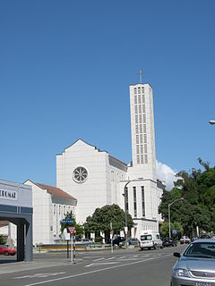 Waiapu Cathedral of Saint John the Evangelist, Napier Church in New Zealand, New Zealand