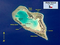Map of Wake Island