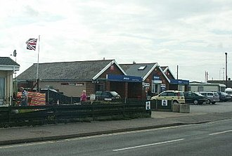 Walcott, Norfolk - Walcott post office.