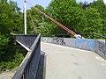 Walking Bridge 1, Bremen 13.JPG