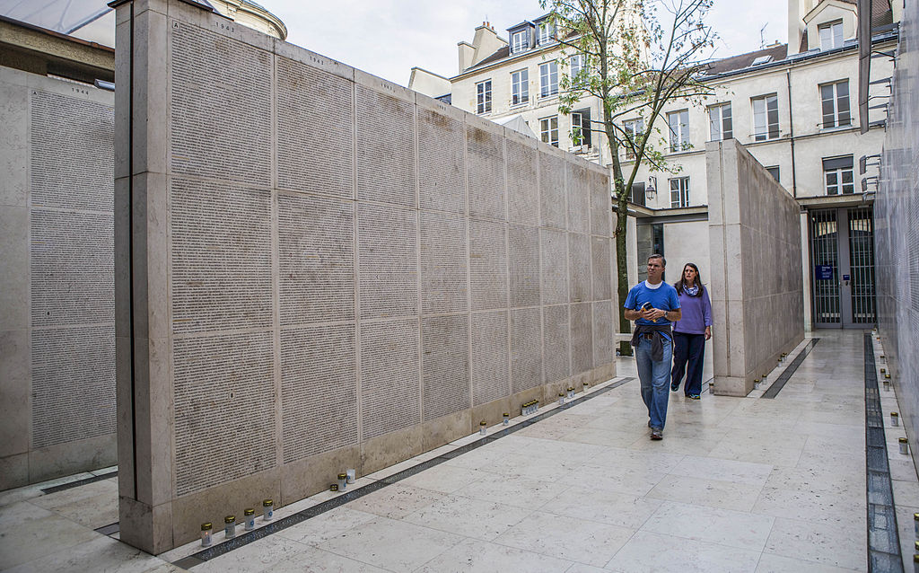 Wall of names, Memorial of the Shoah, Paris.jpg