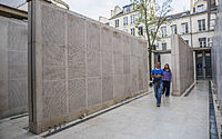 Wall of names, Memorial of the Shoah, Paris.jpg