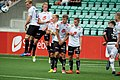 Wall on direct free kick, Sogndal-Rosenborg 07-15-2017.jpg