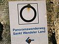 Wanderweg Schild St. Wendel 02.JPG