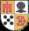 Wappen von Möhringen bis 1942