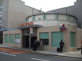 Wapping station building April2010.jpg