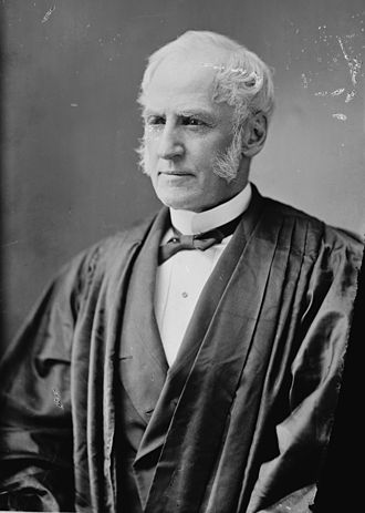 Trial of Susan B. Anthony - Justice Ward Hunt