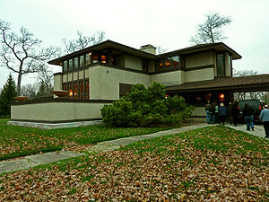 The Ward W. Willits House in Highland Park, Il...