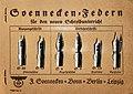 Warenprobe Schreibfedern von Soennecken.jpg