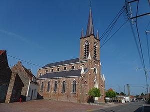 Warlaing - Image: Warlaing (Nord, Fr) église