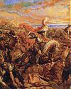ציור המתאר את קרב וארנה