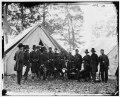 Warrenton, Va. Gen. Ambrose E. Burnside and staff; another view LOC cwpb.03791.tif