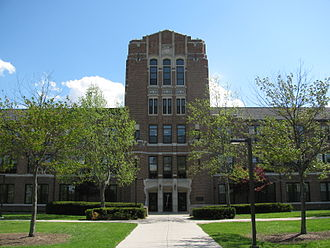Central Michigan University - Warriner Hall at Central Michigan University