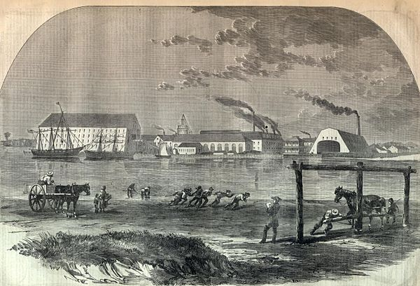 An early illustration of the Washington Navy Yard Washington-navy-yard early illustration.jpg