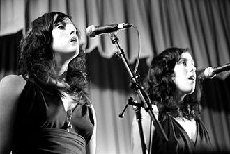 The Watson Twins - Leigh and Chandra Watson, 2006
