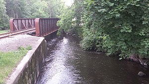 Wawayanda Creek in Warwick, New York Wawayanda Creek.jpg
