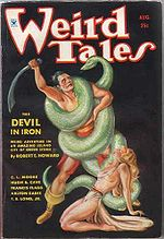 Weird Tales cover image for August 1934