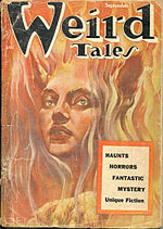 Weird Tales cover image for September 1954