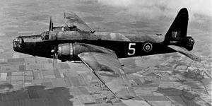 No. 38 Squadron RAF - Image: Wellington Bomber