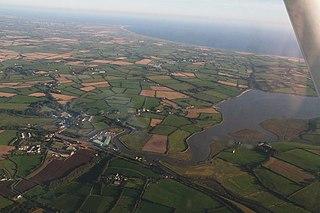 Wellingtonbridge Village in Leinster, Ireland