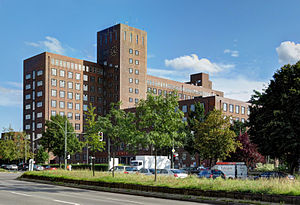 Siemensstadt - Image: Wernerwerk Hochhaus, Siemensdamm 02