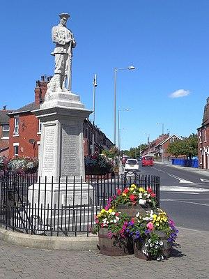Medlar with Wesham - Image: Wesham War Memorial