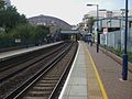 West Brompton stn Overground look north.JPG