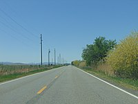 West along SR-77 at about 650 West in Palmyra, Utah, May 16.jpg