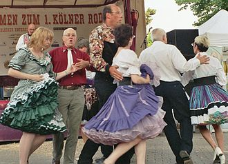 Modern western square dance - Western square dance group