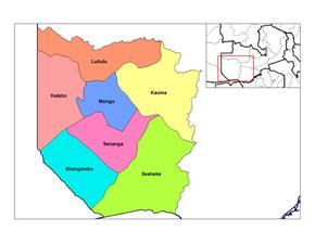 Provincia Occidentale (Zambia)