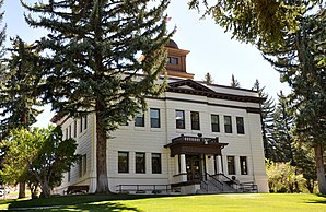 White Pine County Courthouse in Ely, gelistet im NRHP Nr. 86001958[1]