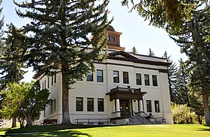 White Pine County, Nevada - Image: White Pine County Courthouse in Ely
