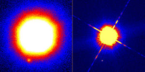 Substellar companion - Image: Wide Field Infrared Images of Gliese 229 b