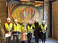 """Wiederentdeckung des Otto-Freundlich-Mosaik """"Die Geburt des Menschen""""-8737.jpg"""