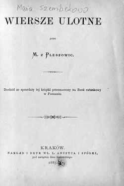Wiersze Ulotne Wikiźródła Wolna Biblioteka