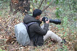 Wiki Loves Birds Photowalk at Bhimdhunga - Nagarjun Forest Reserve Area, Kathmandu (3).jpg