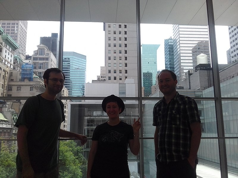 File:Wikimedians at MoMa during Wikimania Takes Manhattan II.jpg
