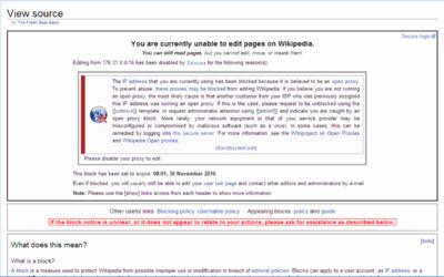Block (Internet) - Simple English Wikipedia, the free encyclopedia