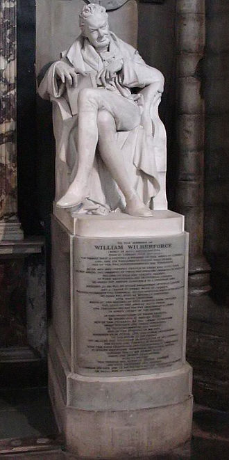 Samuel Joseph (sculptor) - Statue of William Wilberforce by Samuel Joseph, in Westminster Abbey