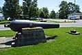 Wilhelm and Kaufman, Civil War gun in Holgate.jpg