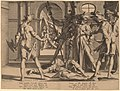 Willem Swanenburgh, after Joachim Anthonisz Wtewael, Beheading of the Roman Judge Papinian, 1606, NGA 154035.jpg