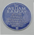 WilliamRamsay BluePlaque.jpg