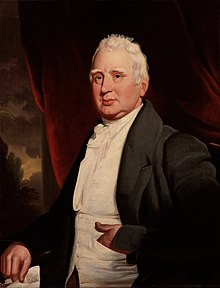 William Cobbett, portrait in oils, possibly by George Cooke, about 1831 National Portrait Gallery, London