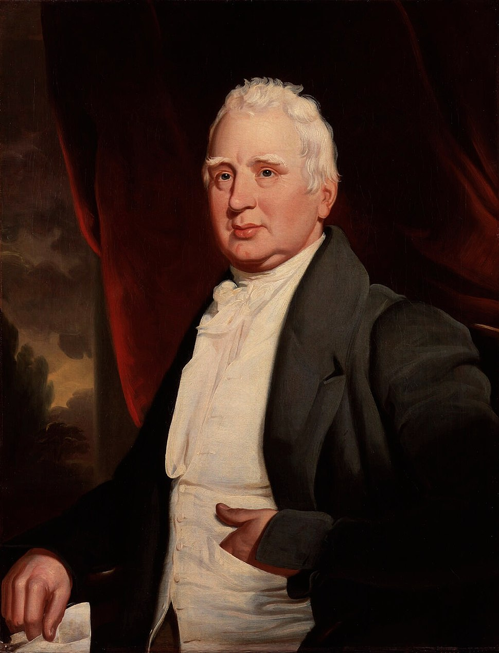 William Cobbett, portrait in oils, possibly by George Cooke, about 1831. National Portrait Gallery, London.