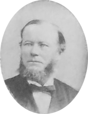 William Daniel (Maryland politician) - Daniel pictured c. 1884