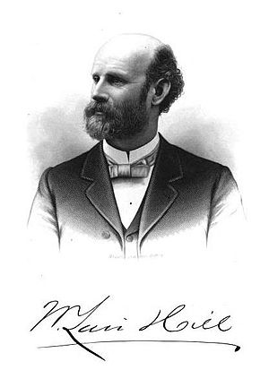William Lair Hill - Hill in about 1890