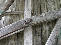 Willow Hill Covered Bridge Burr Arch Truss Joint 3264px.jpg